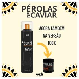 Sistema de Alinhamento Widi Care - Pérolas de Caviar Extract Passo 2 - 100g