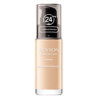 Colorstay Pump Combination/Oily Skin Revlon - Base Líquida - 180 Sand Beige