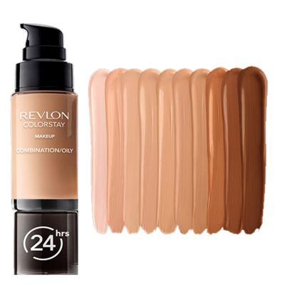 Imagem 3 do produto Colorstay Pump Combination/Oily Skin Revlon - Base Líquida - Caramel