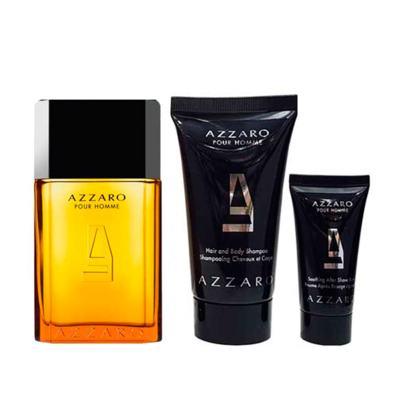 Imagem 2 do produto Azzaro Pour Homme Azzaro Kit - Eau de Toilette  + Shampoo para Corpo e Cabelo + Pós-Barba - Kit