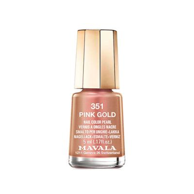 Mavala Mini Color 5ml - Esmalte Cintilante - 351 - Pink Gold