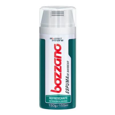 Imagem 1 do produto Espuma de Barbear Bozzano Refrescante 190g - Espuma de Barbear Bozzano Refrescante 150g