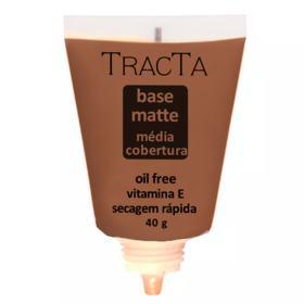 Base Facial Matte Tracta Média Cobertura - 08 | 40g