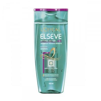 Shampoo Elseve Hydra Detox 48h Antioleosidade 400ml