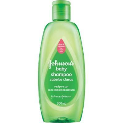 Imagem 1 do produto Shampoo Infantil Johnson Claros 200ml