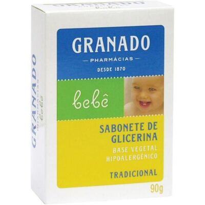 Sabonete Em Barra Infantil Granado Tradicional 90g