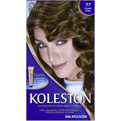 Imagem 1 do produto Tintura Permanente Koleston 77 Marrom Dourado