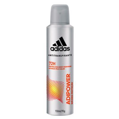 Imagem 1 do produto Desodorante Antitranspirante Adidas Masculino - Adipower - 150ml