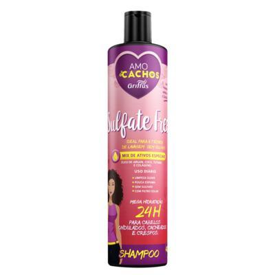 Sulfate Free Amo Cachos Griffus - Shampoo - 400ml