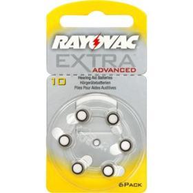 Pilha Auditiva 10 Rayovac Extra Advanced 1,4v 6un