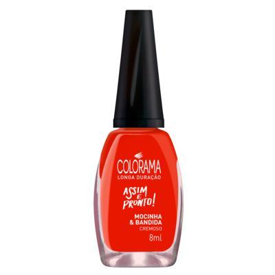 Imagem 1 do produto Esmalte Colorama - Assim e Pronto - Mocinha e Bandida