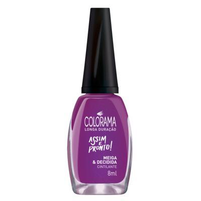Imagem 1 do produto Esmalte Colorama - Assim e Pronto - Meiga e Decidida