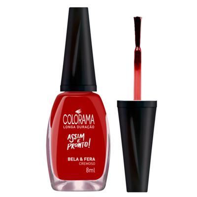 Imagem 4 do produto Esmalte Colorama - Assim e Pronto - Bela e Fera