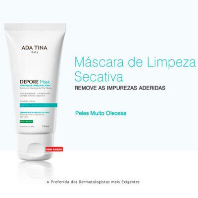 Imagem 2 do produto Depore Mask Ada Tina - Máscara de Limpeza - 100ml