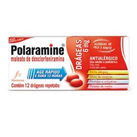 Polaramine Repetabs - 6mg | 12 drágeas