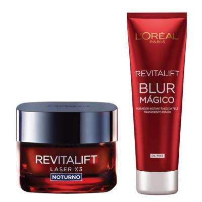 Kit Revitalift L'Oréal Paris - Aperfeiçoador da Pele + Rejuvenescedor Facial - Kit