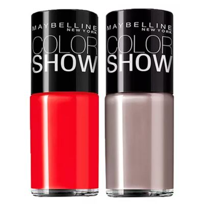 Imagem 3 do produto Pedi Perfect Amopé + Color Show Maybelline - Kit C Esfoliador Eletrônico + 2 Esmaltes Color Show - Kit