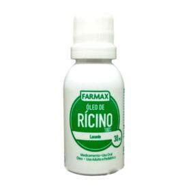Oleo De Ricino 100% Farmax - 30ml