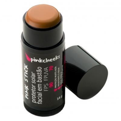 Imagem 1 do produto Protetor Solar Facial Pink Cheeks Pink Stick FPS 90 - 42km Rio