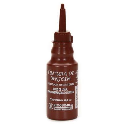 Imagem 1 do produto Tintura De Benjoim Solução 20% Rioquimica 100ml