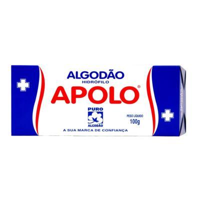 Algodão em Rolo Apolo - Hidrófilo | 100g