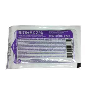 Escova Riohex Scrub Degermante Clorhexidina 2% - 22ml