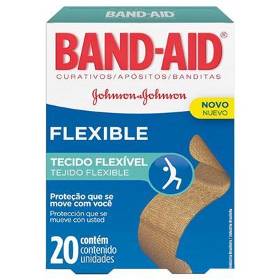Imagem 1 do produto Curativo Band Aid Flexible 20un