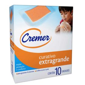 Curativo Cremer - Extragrande Transparente | 10 unidades