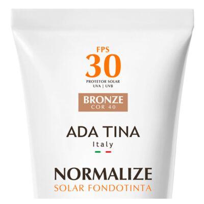Imagem 4 do produto Normalize Ft Fps 30 Ada Tina - Protetor Solar - Bronze