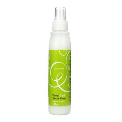 Deva Curl Set It Free Spray Anti-Frizz - Finalizador Antifrizz - 145ml