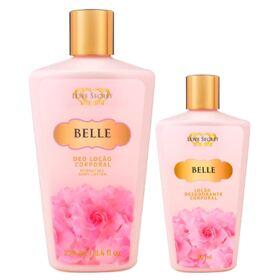 Love Secret Belle Kit - Loção Desodorante + Loção Desodorante - Kit