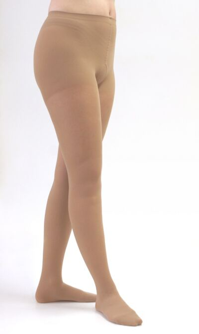 Meia Calça 20-30 mmHg Assure Medi - BEGE P (FECHADO)