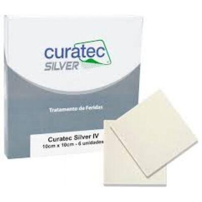 Imagem 1 do produto Curativo Silver IV Curatec - 15X15CM