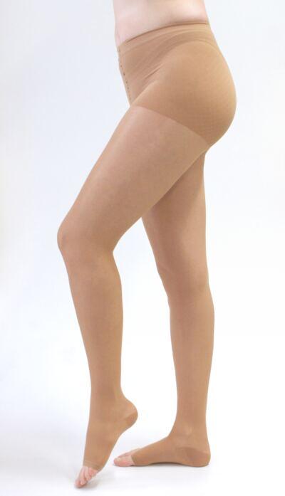 Imagem 1 do produto Meia Calça 20-30 mmHg Sheer & Soft Medi - NATURAL V PONTEIRA ABERTA