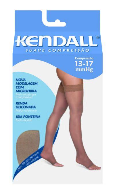 Imagem 1 do produto MEIA COXA 13-17 SUAVE KENDALL - CASTANHO PONTEIRA ABERTA M