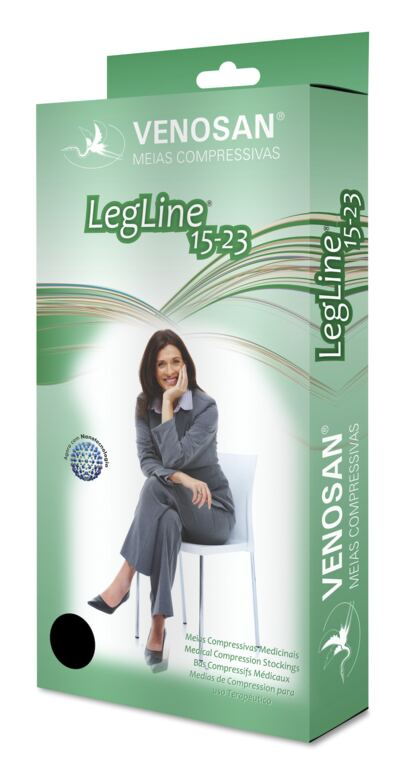 Imagem 2 do produto Meia Panturrilha AD 15-23 Legline Venosan - PONTEIRA ABERTA OLINDA XG