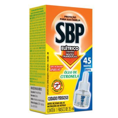 Repelente SBP - Líquido 45 Noites Refil Citronela - 35ml