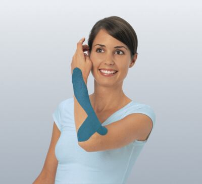 Leukotape 5 cm  X 5 m Azul BSN Medical