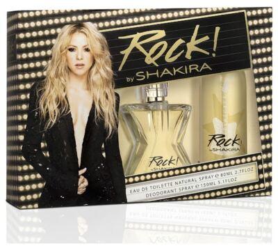 Imagem 1 do produto kit Rock by Shakira Eau de Toilette Feminino - 80 ml + Desodorante Spay 150 ml Kit