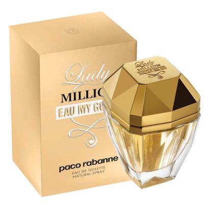 Lady Million Eau My Gold Feminino de Paco Rabanne Eau de Toilette - 50 ml