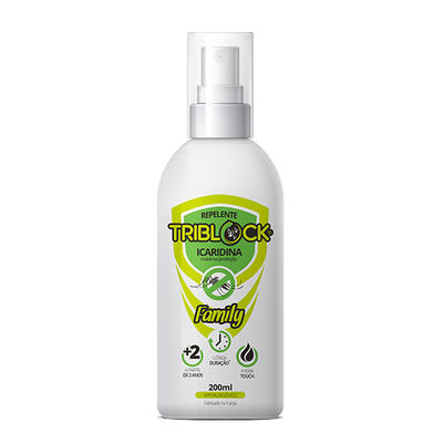 Repelente Triblock Family Spray 200ml