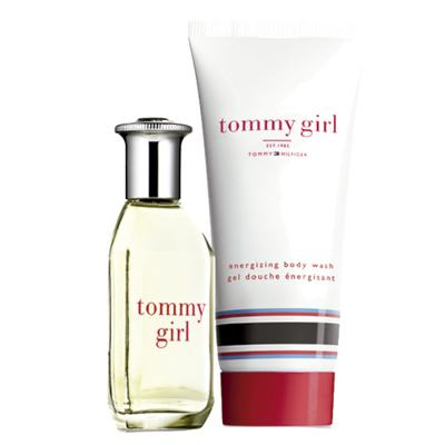 Tommy Girl Tommy Hilfiger - Feminino - Eau de Cologne - Perfume Feminino + Gel de Banho - Kit