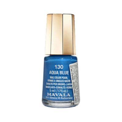 Esmalte Mavala Mini Color Perolado - 130 - Aqua Blue   5ml