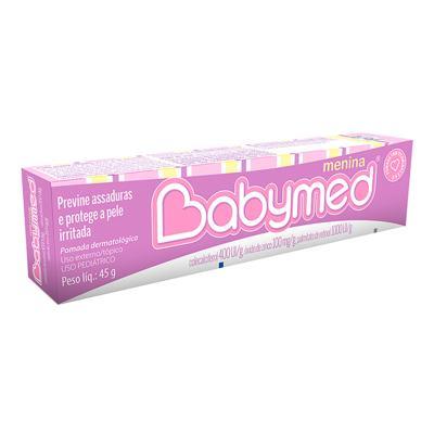 Imagem 1 do produto Babymed Menina Pomada Contra Assadura 45g -