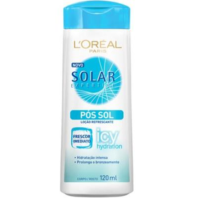Imagem 1 do produto Hidratante Pós-Sol L'Oréal Paris Solar Expertise Pós Sol Icy Hidration - 120ml