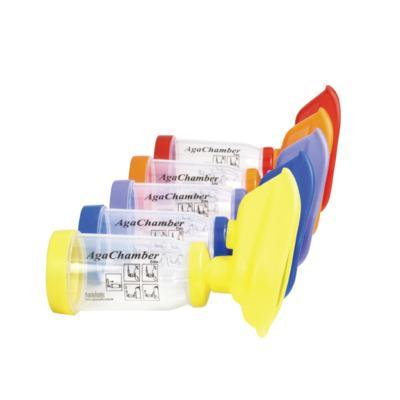 Imagem 1 do produto Espaçador AgaChamber Extra Agaplastic - Amarelo