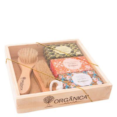 Banho Puro Vegetal SPA 3 Fragrâncias Orgânica - Kit - kit