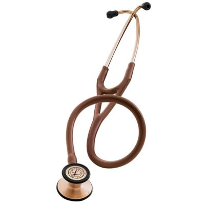 Kit Esteto Littmann Cardiology III Chocolate Cobre com Aparelho de Pressão Bic Preto