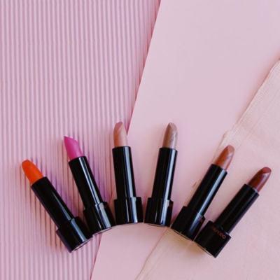 Imagem 5 do produto Batom Shiseido - Rouge Rouge Matte - Rose Syrup