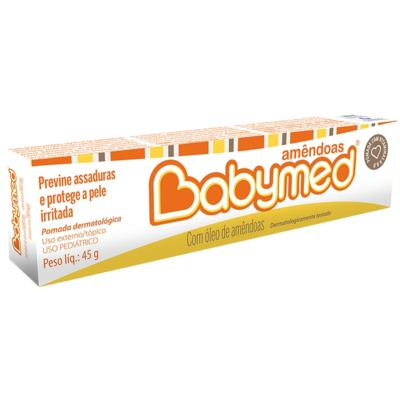 Imagem 1 do produto Babymed Amêndoas Pomada Contra Assadura 40g